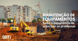 custo de manutenção de equipamentos