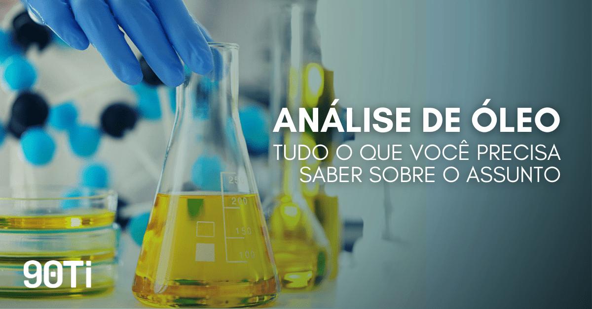 análise de óleo